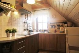 kuchnia aneks | Chrosiówka na Mazurach